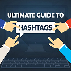 how to use hashtags