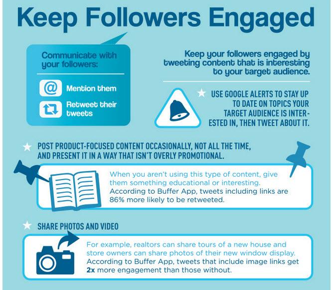 keep followers engaged