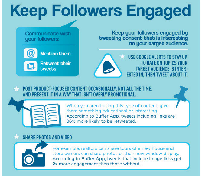 keep followers engaged