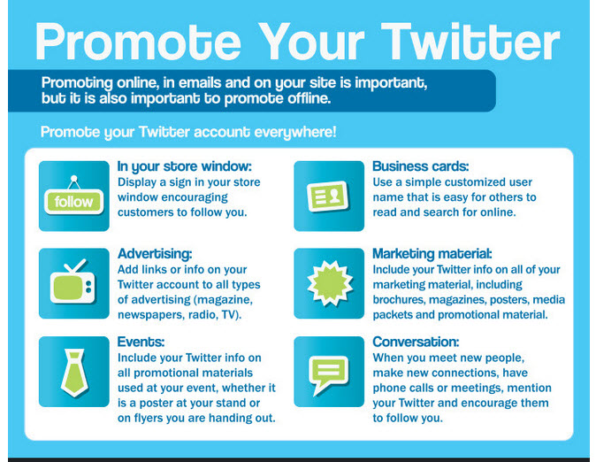 promote your twitter