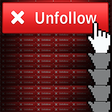 who unfollowed me