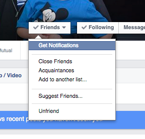How to get notified when your best Facebook friends post