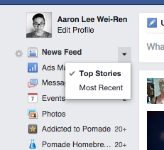 How to get the most recent news in your Facebook News Feed