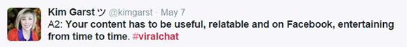 Kim Garst on the Post Planner #ViralChat