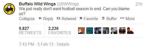 Social Media Tips - bwwings tweet