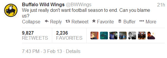 Social Media Tips - bwwings tweet