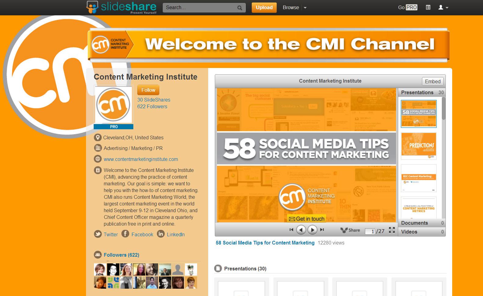 Social Media Tips - cmi