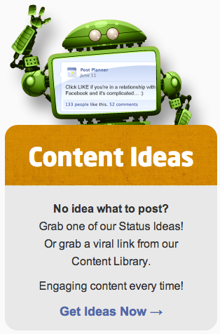 Get fresh content
