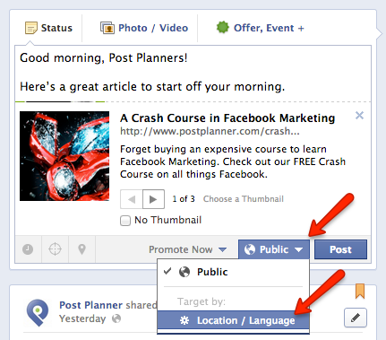 How to Publish a Facebook Post at the Same Time-of-Day in