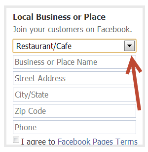 How to create a Facebook Business Page - Step 3
