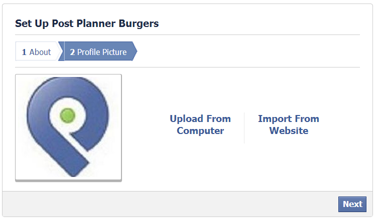 How to create a Facebook Business Page - Step 8