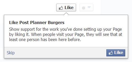 How to create a Facebook Business Page - Step 9