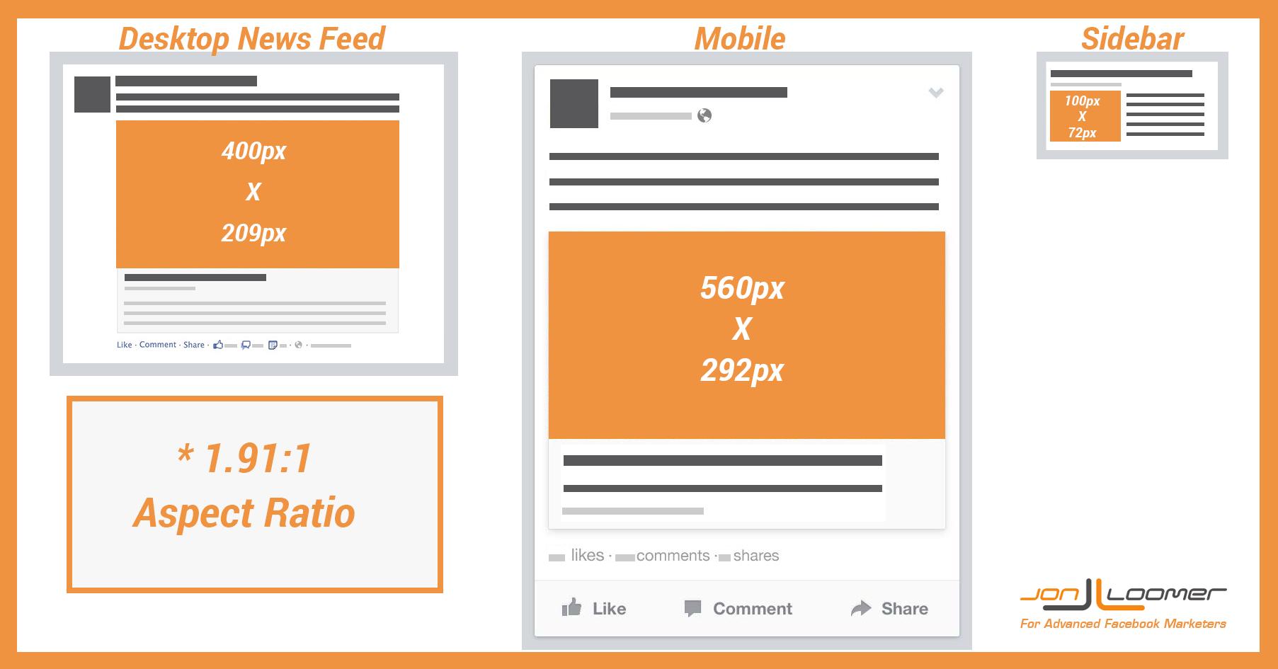 facebook advertising ad dimensions 3