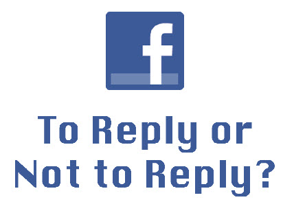 reply to facebook comments
