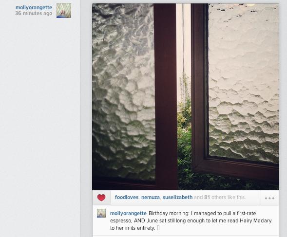 Digital storytelling on Instagram