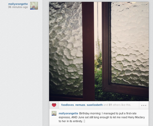 Digital storytelling on Instagram