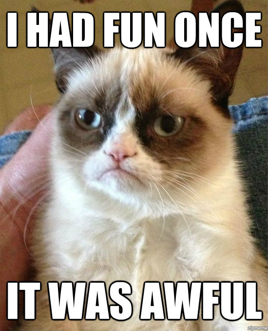 grumpy cat on facebook