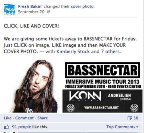 cover photo facebook contest