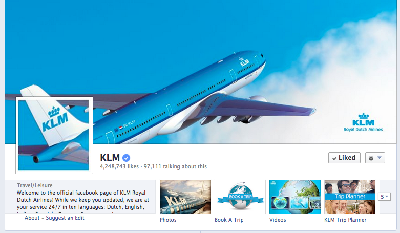 KLM cover photo