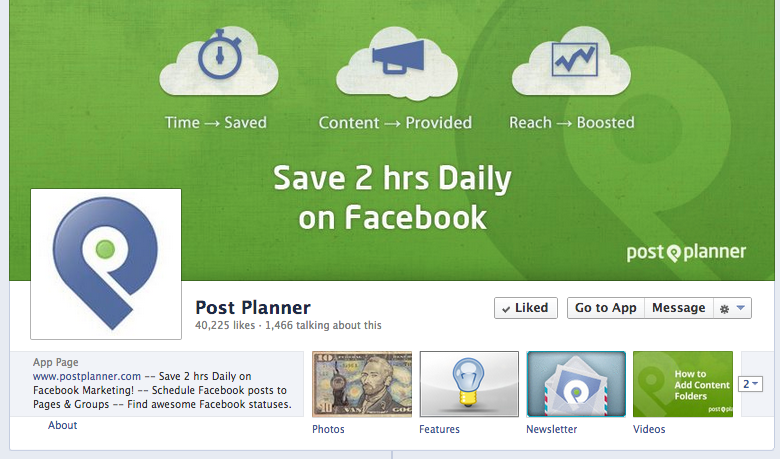 postplanner cover photo