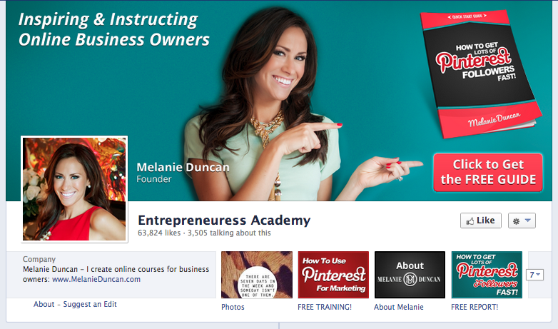 entrepreneuress academi facebook cover