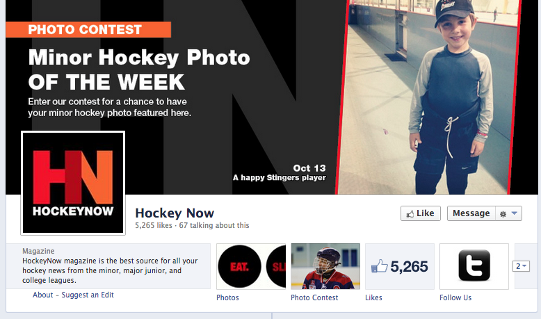 Hockey now facebook