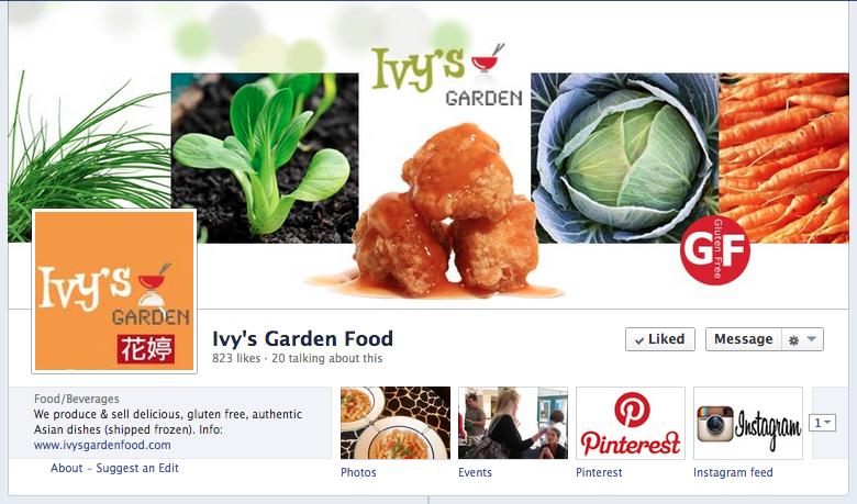 Ivy's garden food
