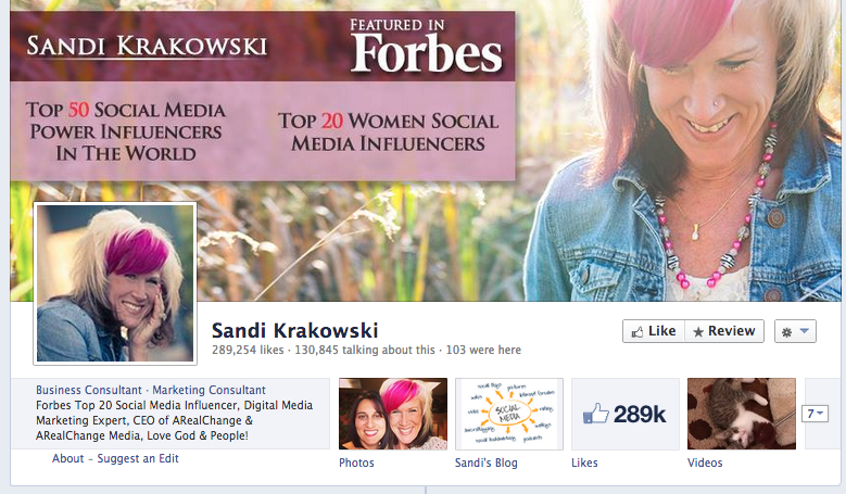 sandi krakwoski facebook cover photo