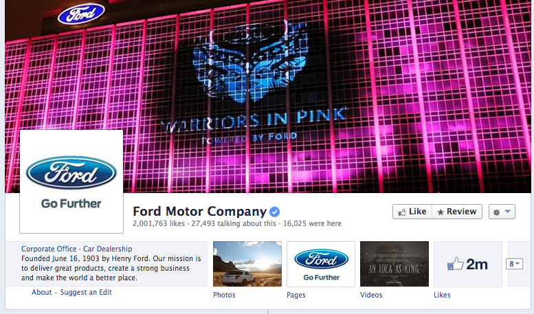 Ford cover photo
