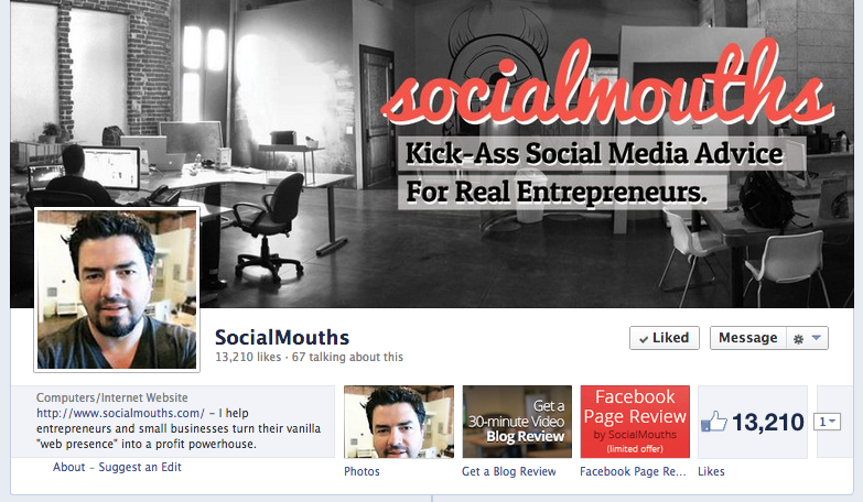 socialmouths Facebook cover photo