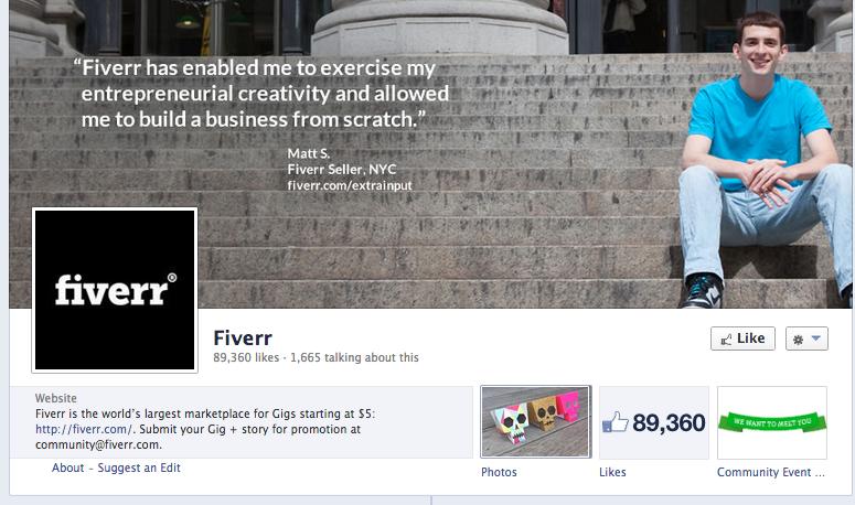 fiverr facebook image