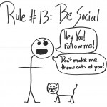 being social