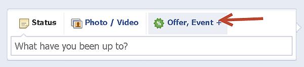 Facebook offer