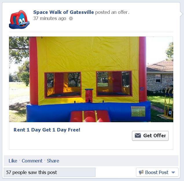 completed facebook offer