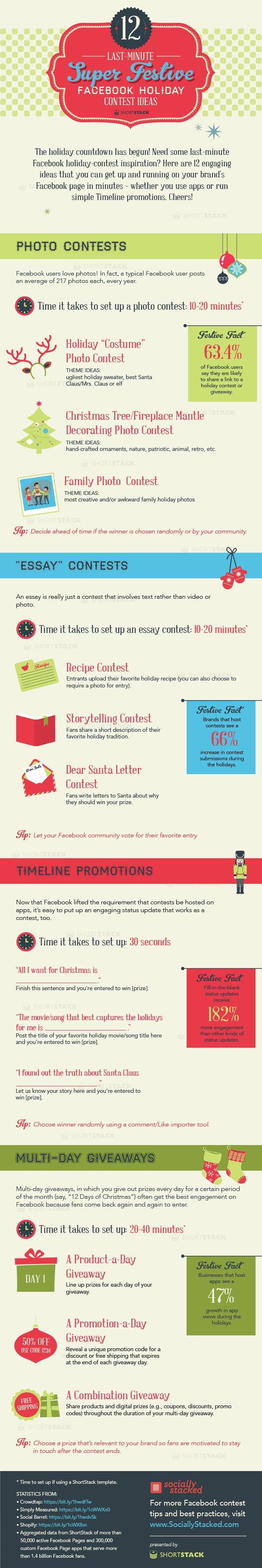 holiday Facebook contest ideas