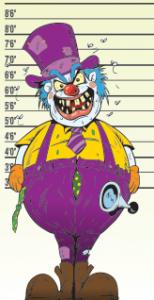 facebook myths - clown