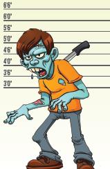 facebook myths - zombie