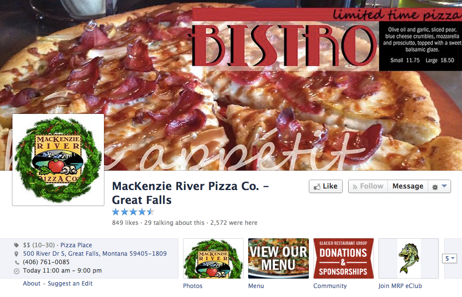 50 facebook pages of restaurants one per state to learn tips from best facebook pages of restaurants forumfinder Images