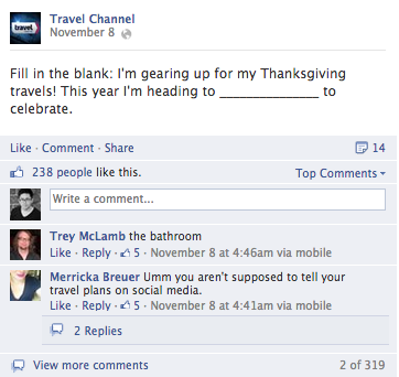travel channel facebook