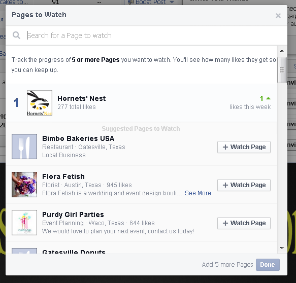 how to add a calendar to facebook business page