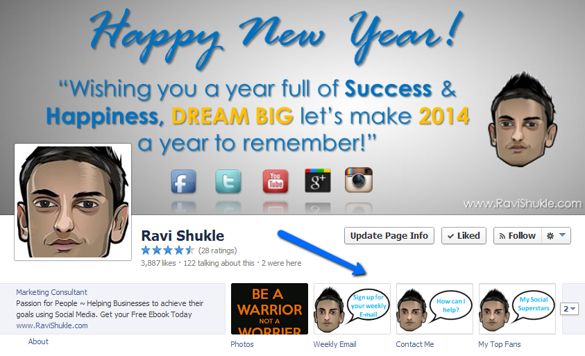 Ravi_Shukle_Social_Media_Facebook_Apps_Post_Planner
