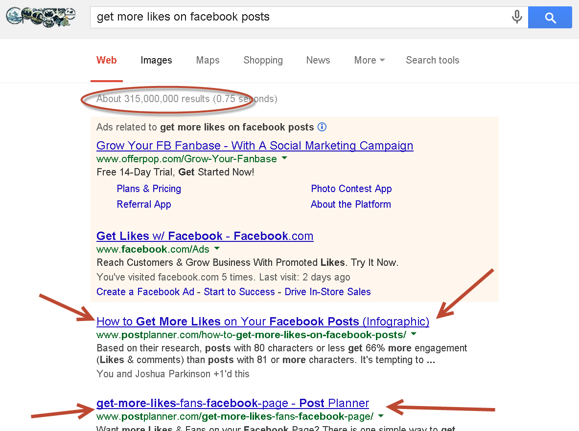 get more likes on facebook posts