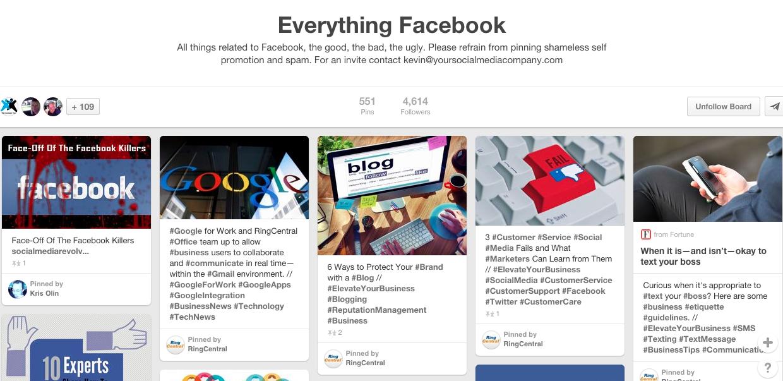 everything facebook