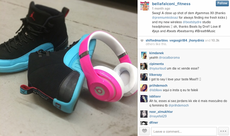 bella falconi fitness instagram