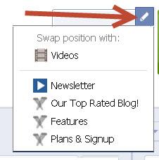 pencil icon facebook apps