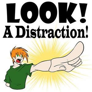 facebook distractions