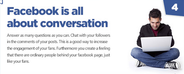 Facebook tips - engage your fans