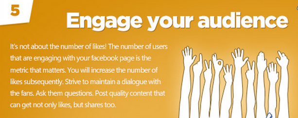 Facebook tips: engage your audience