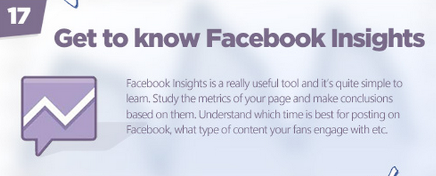 Facebook tips: Use insights
