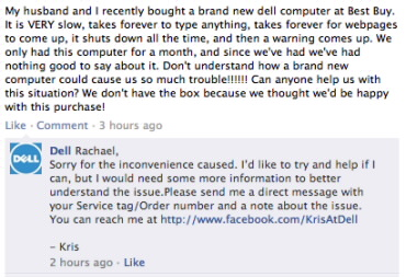 Dell Customer Service Social Media Apology